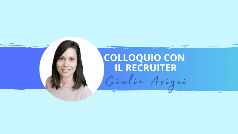 COLLOQUIO CON GIULIA